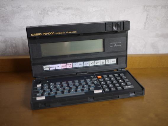 Raro Casio Pb1000 Calculadora Antiga Computador Portatil