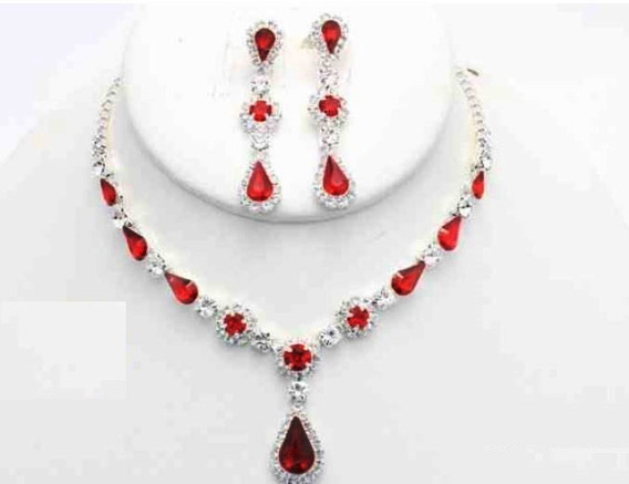Collar Con Arete All Silver Cafu461-05 A20