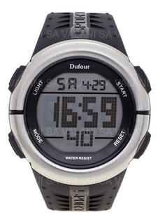 Reloj Dufour Original Evry Hombre Plástico Silicona Digital Descuentos Por Cantidad
