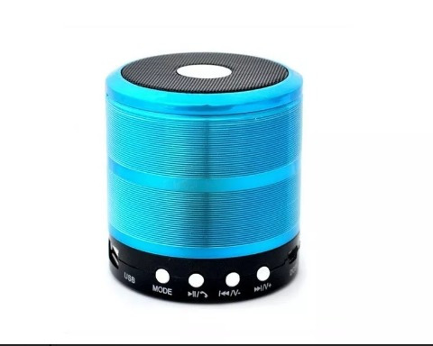 Mini Caixa De Som Bluetooth Mp3