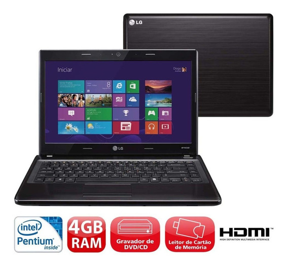 Notebook Lg S460 Intel Pentium B980, 4gb Ram Hd 500gb Usado
