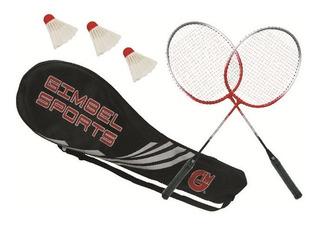 Juego De Badminton 2 Raquetas Y 1 Gallito Campo Nuevo Ecom