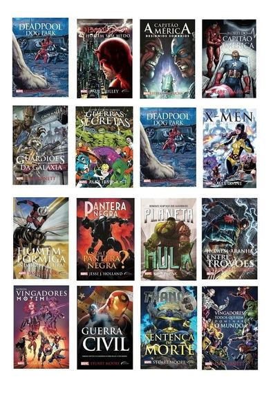 Coleção Romances Marvel - 16 Volumes - Livros - Novos