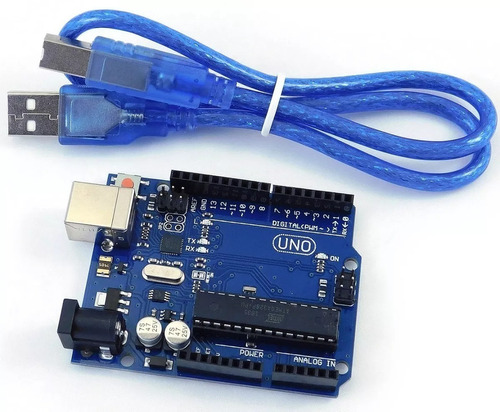 Arduino Uno R3 Atmega328 Incluye Cable Usb Chip Desmontable