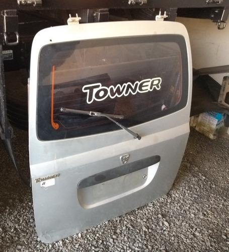 Porta Traseira Towner Com Vidro 2010 2011 2012