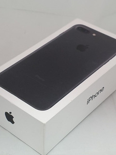 iPhone 7 Plus 128gb Black Impecable Con Accesorios Y Fundas