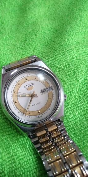 Relógio Seiko 7009 Automático Lindo Demais, Estado De Novo!