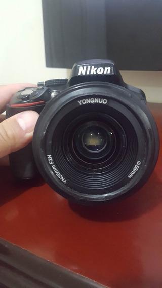 Camera Nikon D5300 + 35 Mm