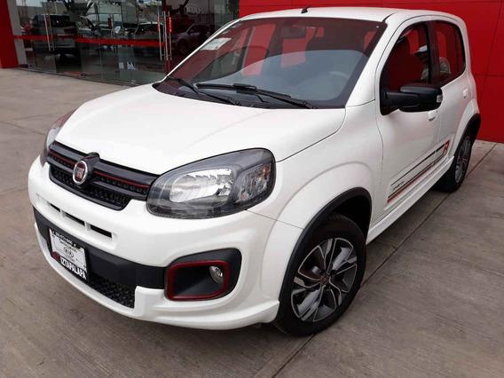 Fiat Uno 2018 Sportingt/m 9,000 Kms Garantia Y Seguro Grati