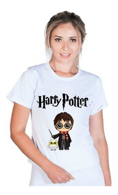 Blusa Blusinha Feminina Harry Potter Óculo Raio Lançamento!