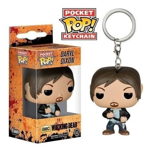 Imagen 1 de 1 de Funko Pocket Pop! Keychain The Walking Dead Daryl Dixon