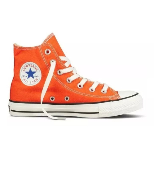 Botitas Converse All Star Naranja