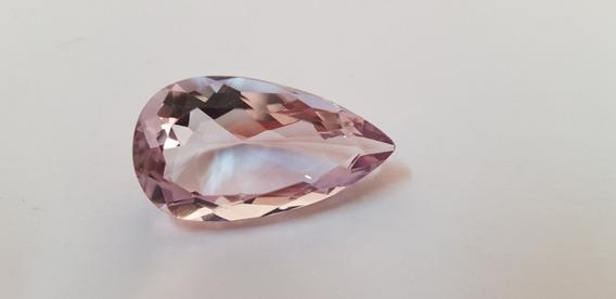 Pedra Preciosa Natural Ametista 28,2ct Maravilhosa Limpa