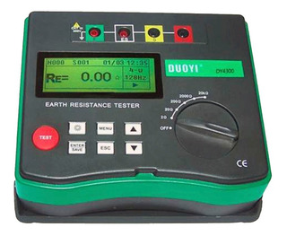 Telurimetro Multimetro Digital Puesta A Tierra Dy-4300 Duoyi