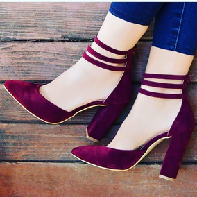 b5f5648963 Sapato Social Feminino - Sapatos Violeta-escuro com o Melhores ...
