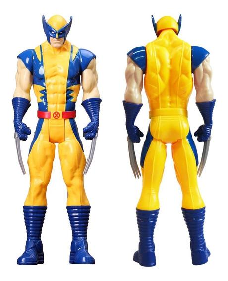 Boneco Wolverine Marvel 30 Cm Articulado (pronta Entrega)