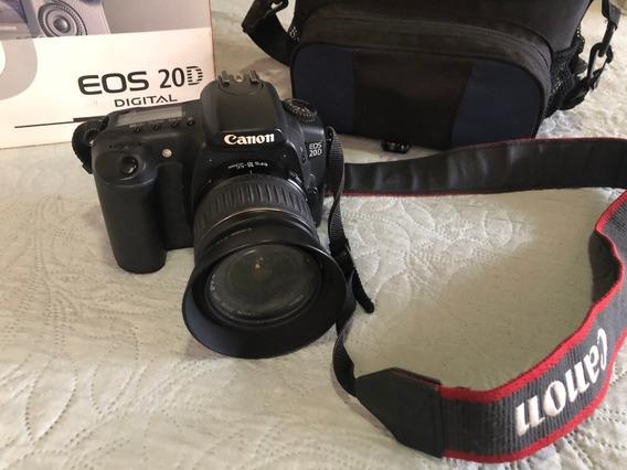 Câmera Profissional Canon Eos 20d