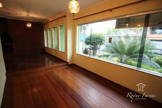 Casa Com 3 Dormitórios Para Alugar, 315 M² Por R$ 4.100/mês - Vila Campesina - Osasco/sp - Ca0730