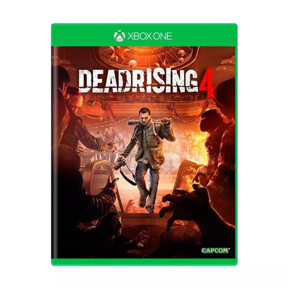 Dead Rising 4 Xbox One Midia Física Português