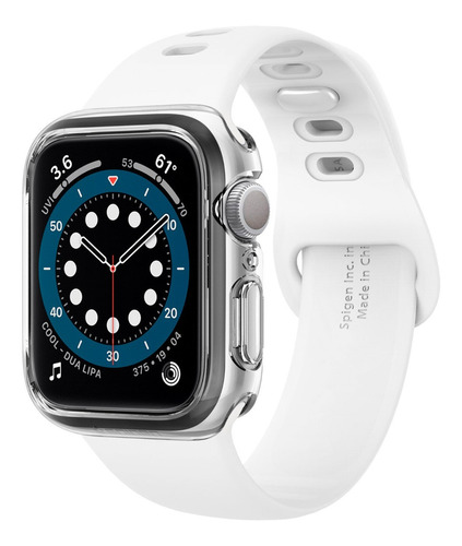 Imagem 1 de 6 de Case Original Spigen Apple Watch 4 5 6 Se 44mm Ultra Hybrid