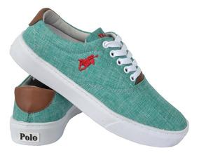 2f08ecc0f1 Kit Tenis Polo - Tênis Urbano Verde com o Melhores Preços no Mercado ...
