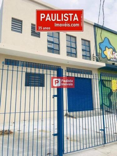 Galpão, 808 M² - Venda Por R$ 1.999.999,00 Ou Aluguel Por R$ 11.998,00/mês - Capela Do Socorro - São Paulo/sp - Ga0541