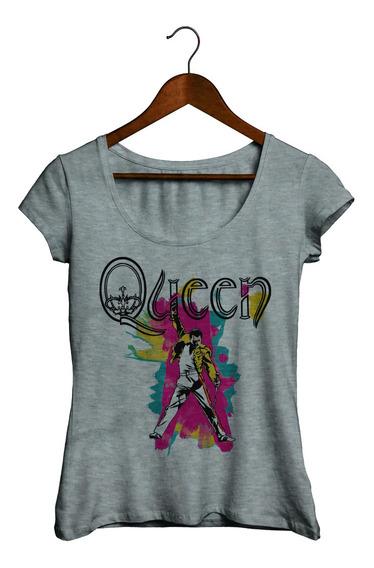 Remeras De Mujer - Queen - Freddie Mercury