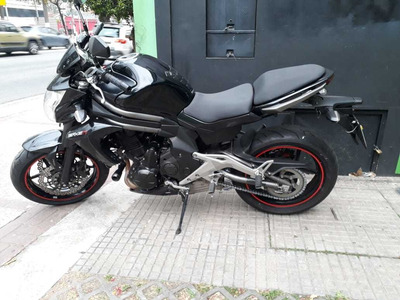 Kawasaki Er 6n 2013 Preta