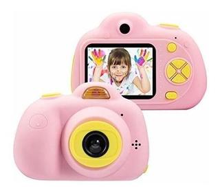 Omzer Cámara Digital De 8 Mp Para Niños, Cámara De Video 10