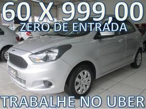 Ford Ka 1.5 Se Completo Zero De Entrada + 60 X 999,00 Fixas