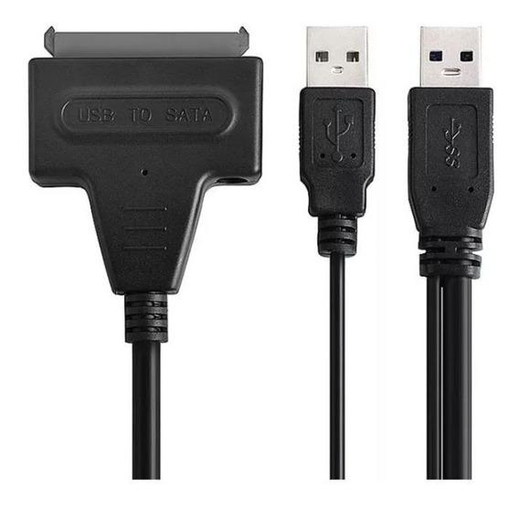 Cable Adaptador Sata A Usb 2.0 Disco Duro 2.5 Hdd - T335