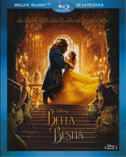 Imagen 1 de 5 de La Bella Y La Bestia 2017 Beauty And Beast Pelicula Blu-ray