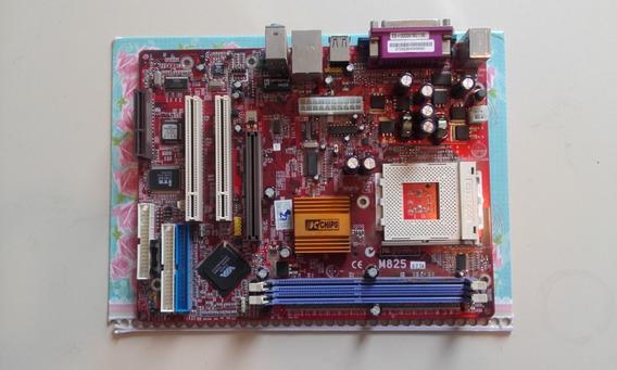 Vdo Placa Mãe Usada De Computador Ce-m825/ V: 7.2a.