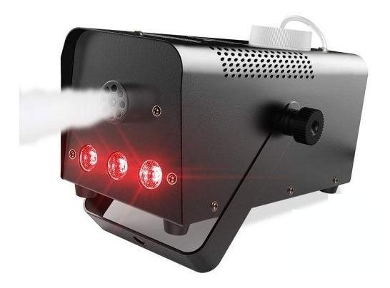 Máquina De Fumaça 600w Led Rgb Festa Halloween Neblina