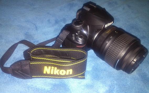 Camara Fotografica Nikon D3000 Reflex Profesional(no Graba)