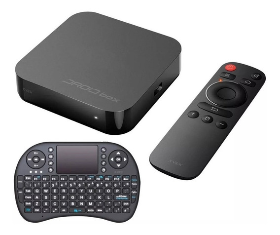 Droid Box Plus X-view Smart Ultra Hd 4k Teclado Netflix Wifi