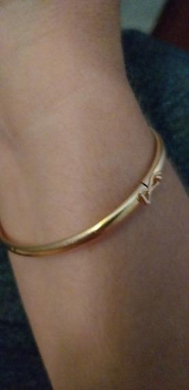 Bracelete Pulseira Joia Ouro Amarelo 18k 750 Feminino