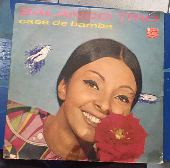 Lp Balanço Trio Casa De Bamba 1969