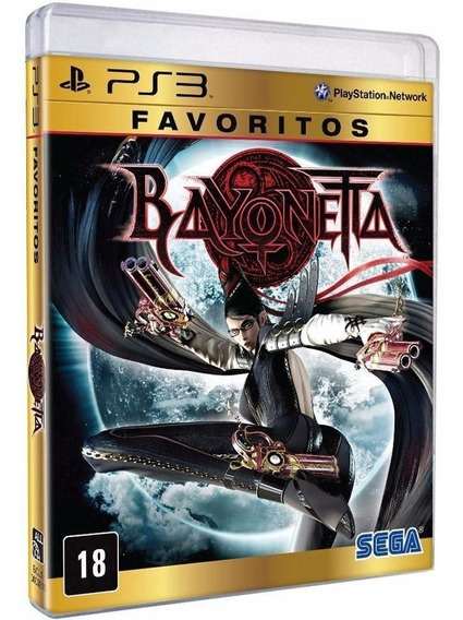 Bayonetta - Jogo Para Ps3 Original - Midia Fisica Lacrado