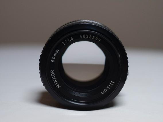 Nikon Nikkor 50mm 1.4 Ai-s Impecável Serve D750 D850 D700 Z6