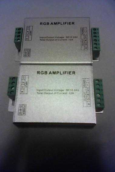 Amplificador De Voltaje Rgb Para Luces Led