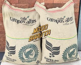 Café De Especialidad Verde Tostar Tostadores Barista Kilo