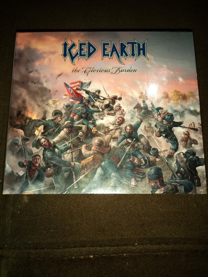 Cd Iced Earth The Glorious Burden Digipack Sem Encarte