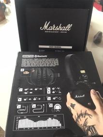 Marshall Fone De Ouvido Sem Fio ( Bluetoooth)semi Novo