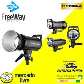 Flash De Estúdio Sk400 Greika/godox - Tocha 400w