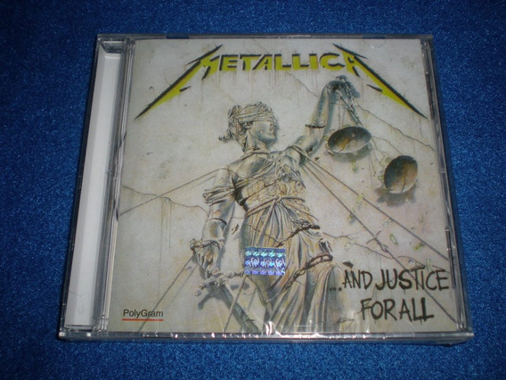 Metallica / ...and Justice For All Nuevo C35