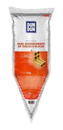 Masa Dun Dun Adhesivo Listo Para Usar En Ladrillos 3kg