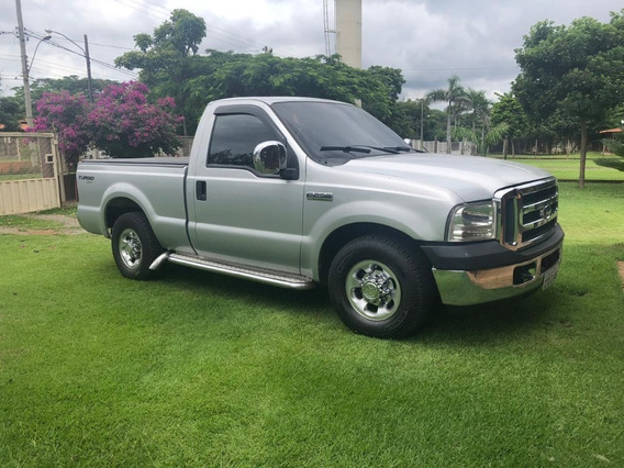 Ford F250 Xl Turbo 2000/2000 Prata