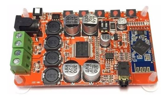 Tda7492 Amplificador Audio Bluetooth 4.0 Tda7492p 50w