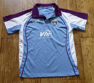 Camisa Gaelic Cul Camps G Irlanda Raridade Azzurri Kelloggs